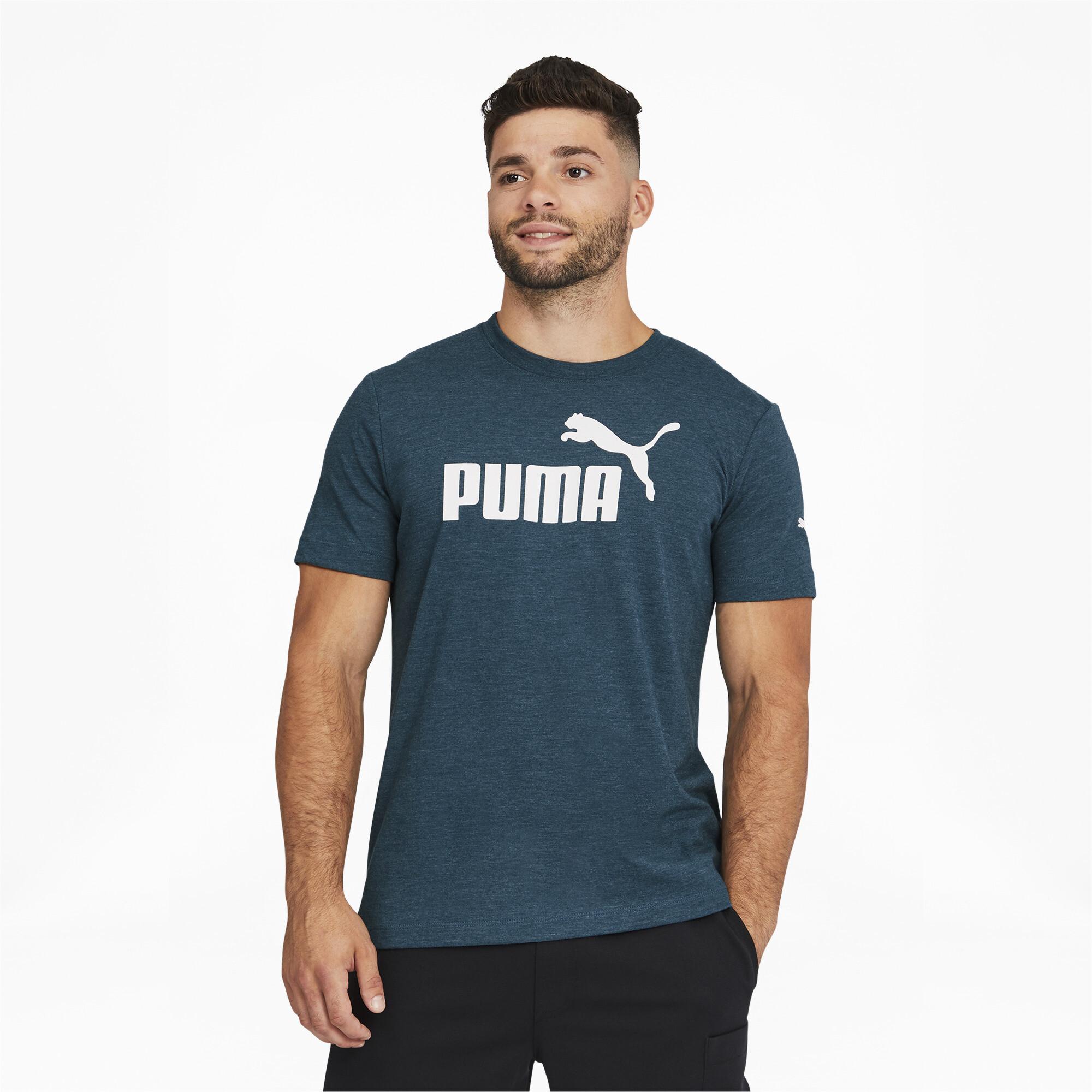thumbnail 10 - PUMA Men's Essentials Heather Tee