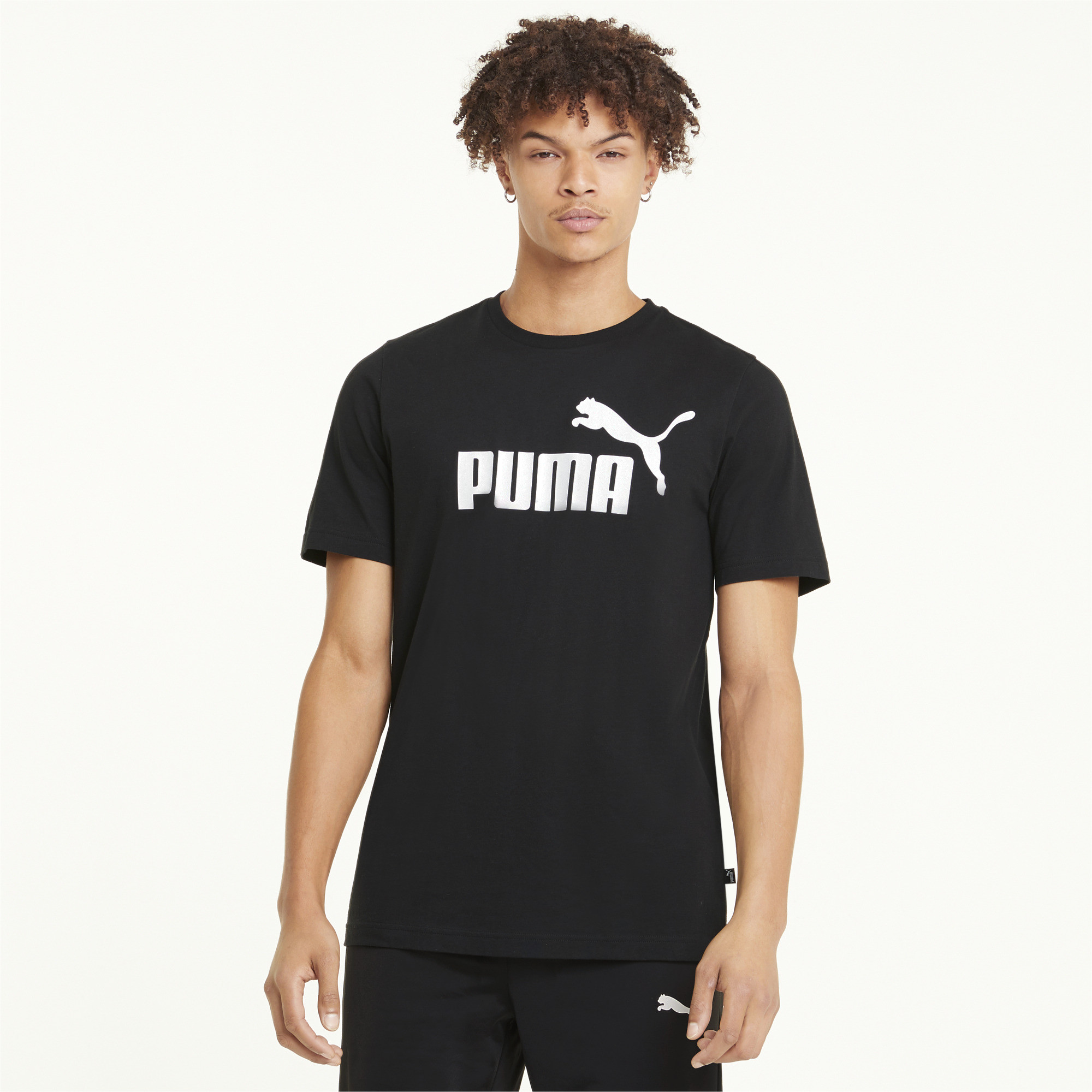 thumbnail 9 - PUMA Men's Essentials Logo Tee