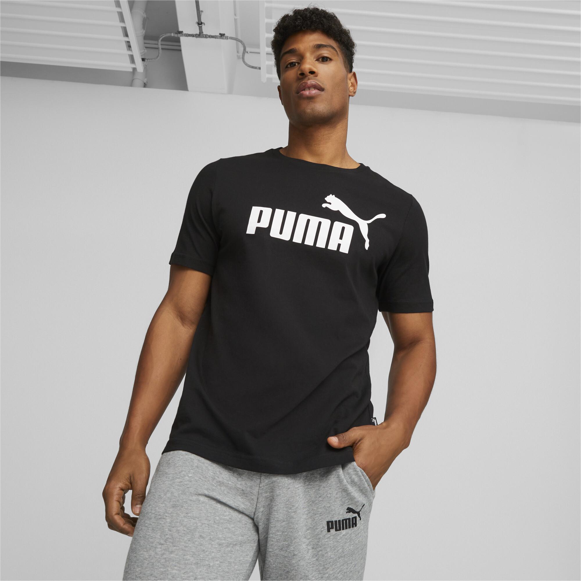 thumbnail 9 - PUMA-Men-039-s-Essentials-Logo-Tee