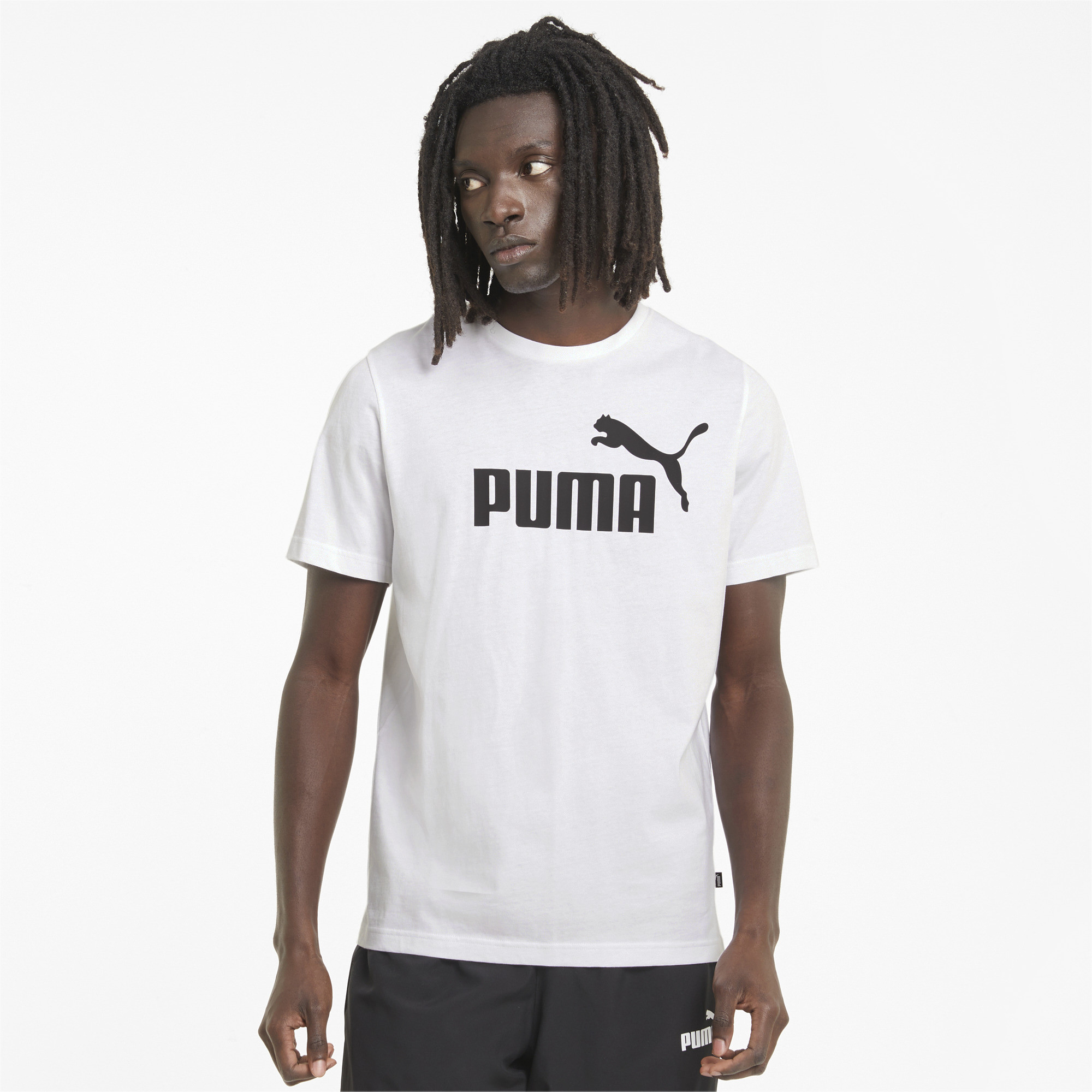 thumbnail 4 - PUMA Men's Essentials Logo Tee