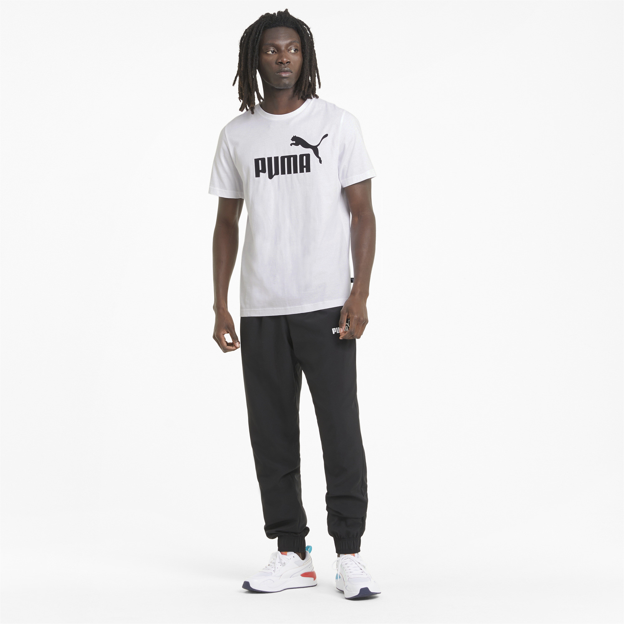 thumbnail 6 - PUMA Men's Essentials Logo Tee
