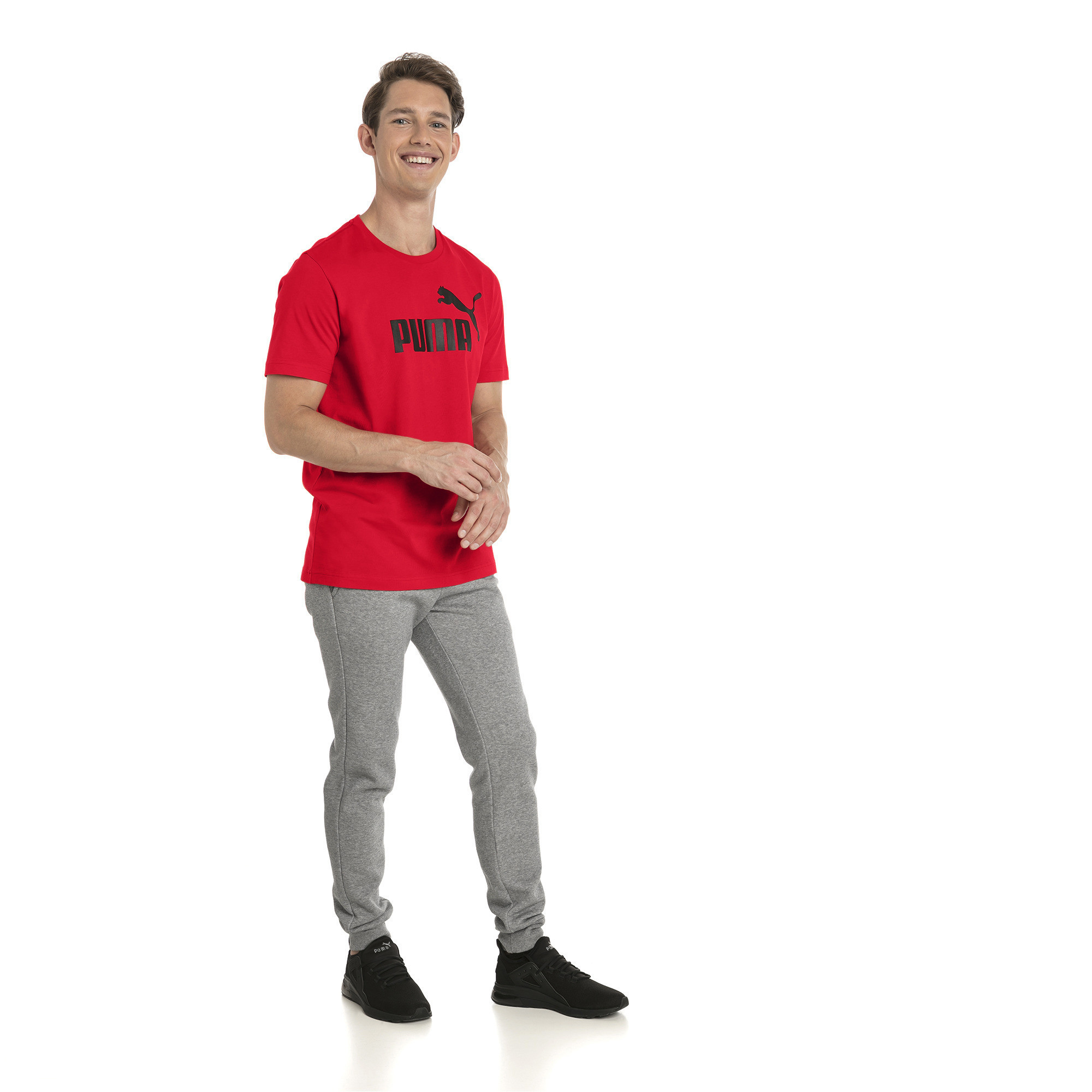 thumbnail 21 - PUMA Men's Essentials Logo Tee