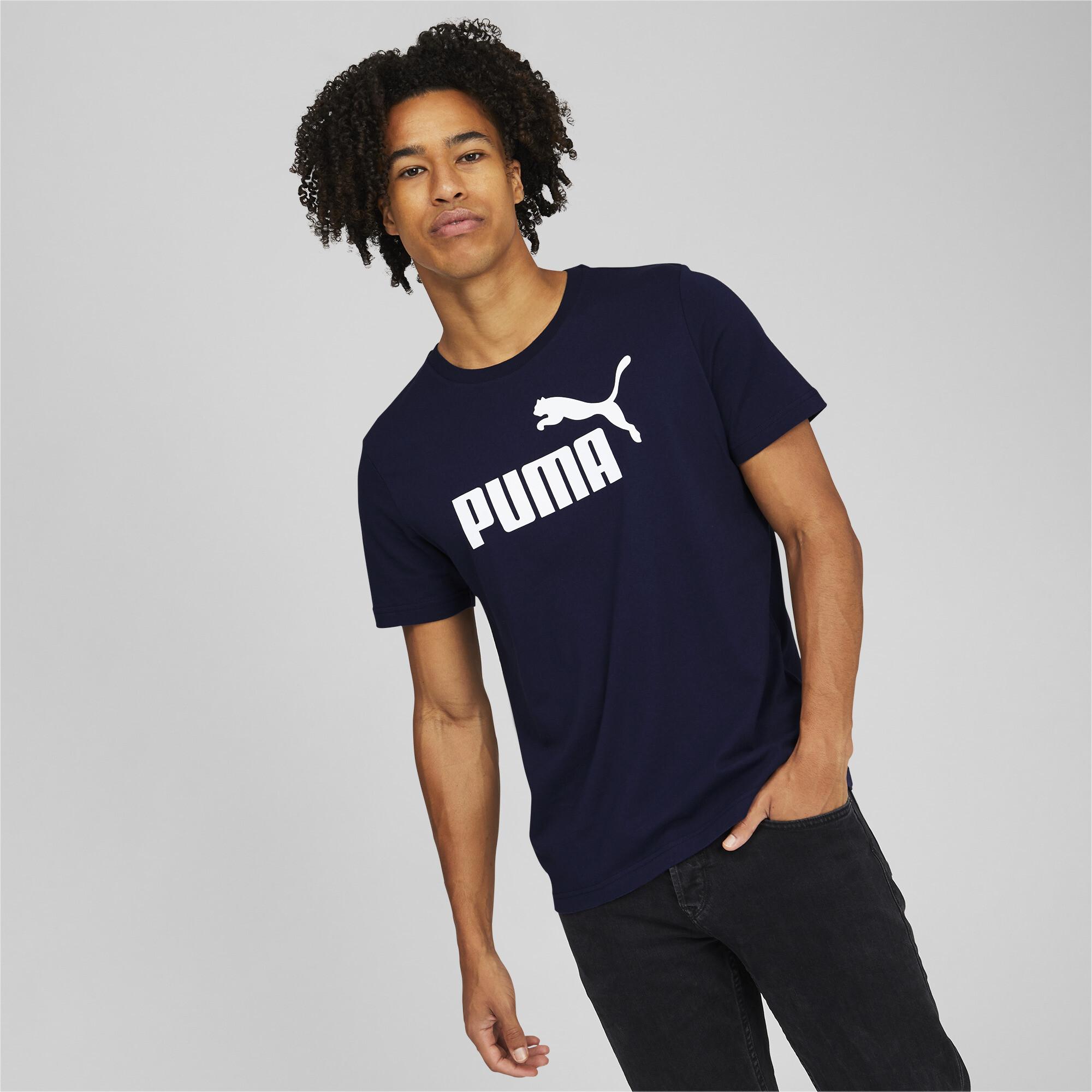 thumbnail 24 - PUMA Men's Essentials Logo Tee