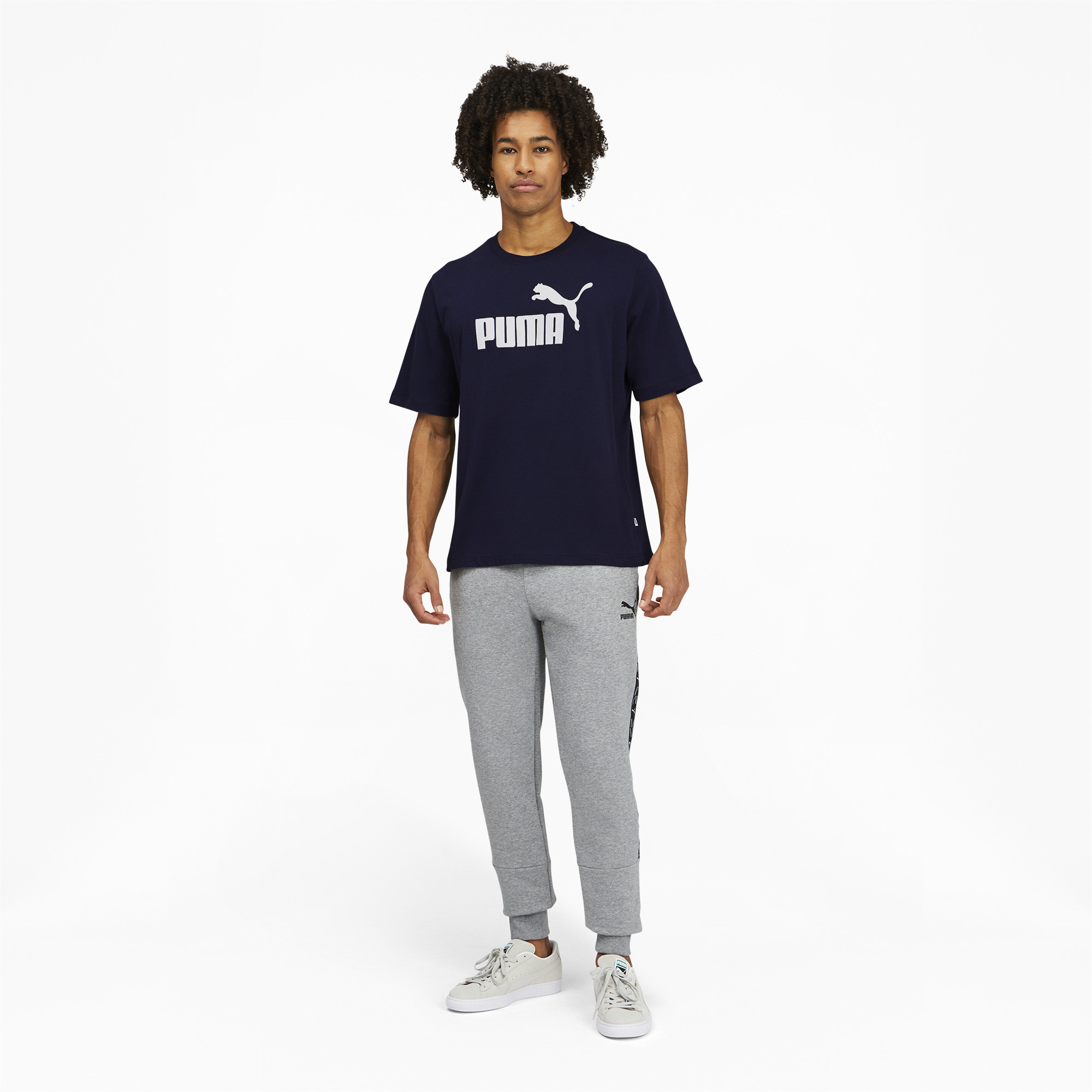 thumbnail 26 - PUMA Men's Essentials Logo Tee