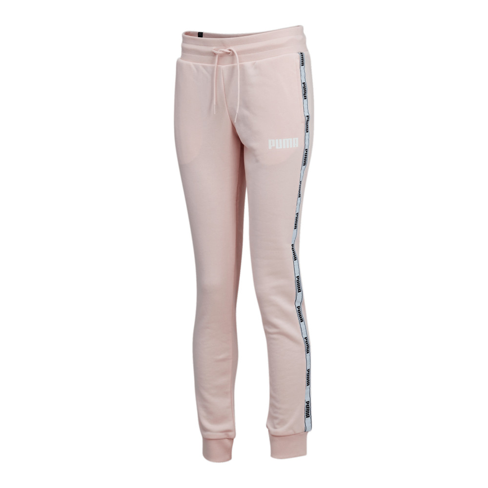 Image PUMA Tape French Terry Women's Pants #1