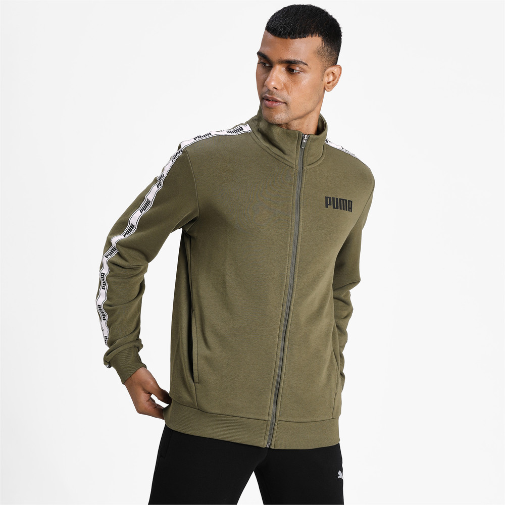 Image PUMA Tape French Terry Full-Zip Men's Track Top #1