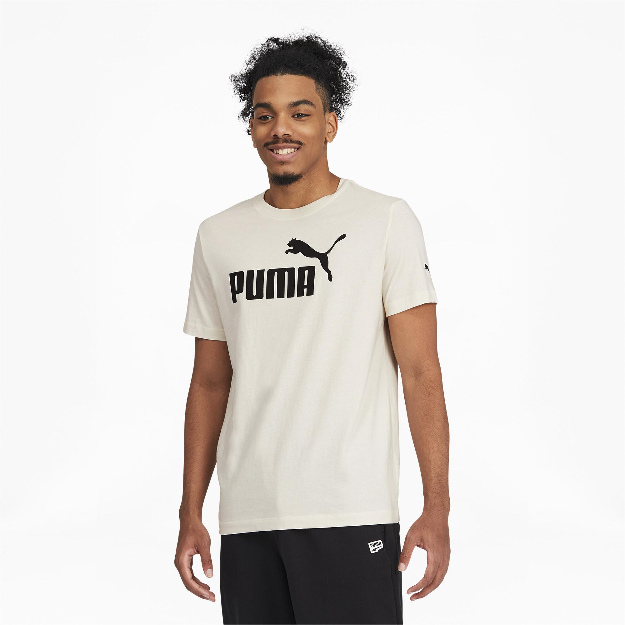 thumbnail 4 - PUMA Men's Essentials Logo Tee