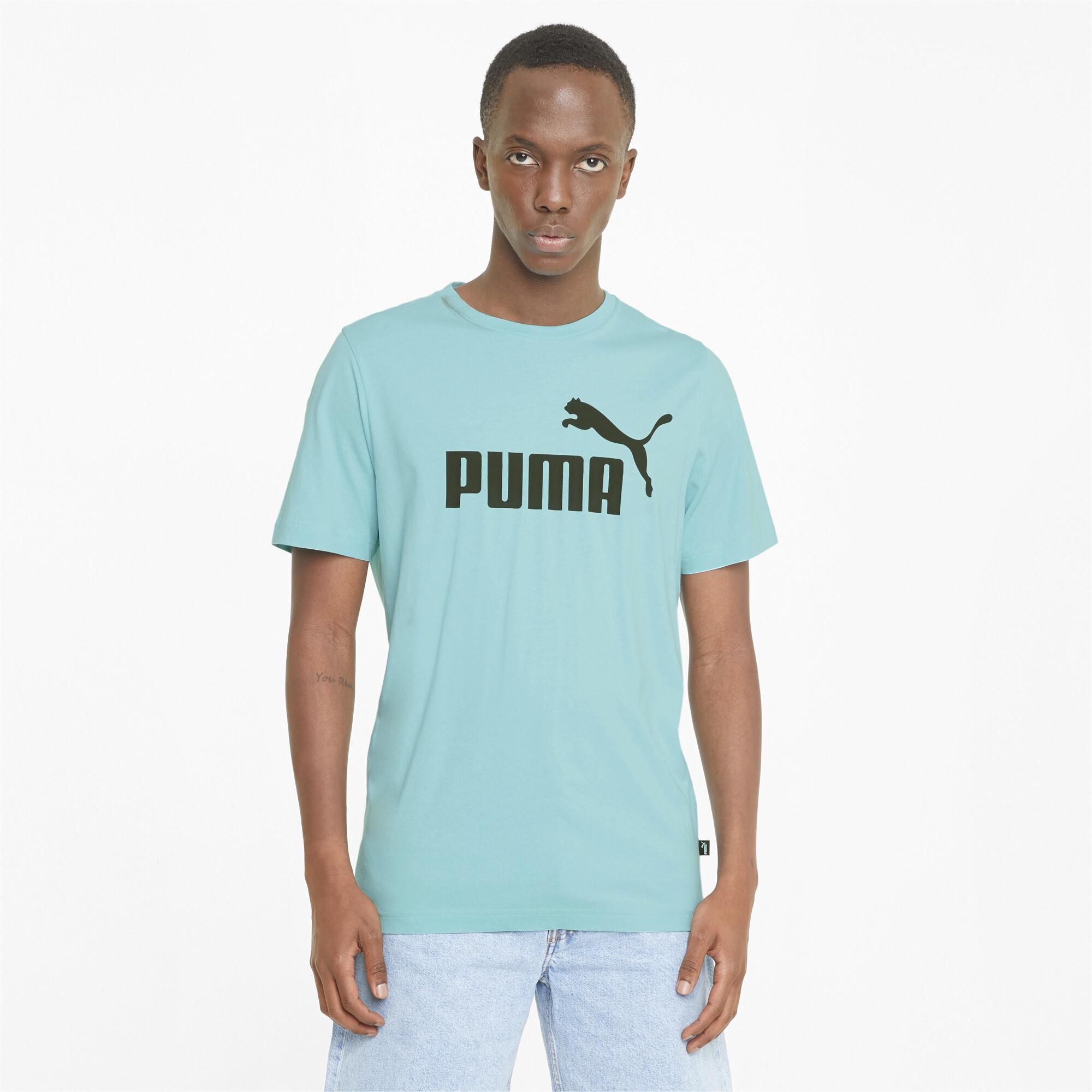 thumbnail 27 - PUMA Men's Essentials Logo Tee