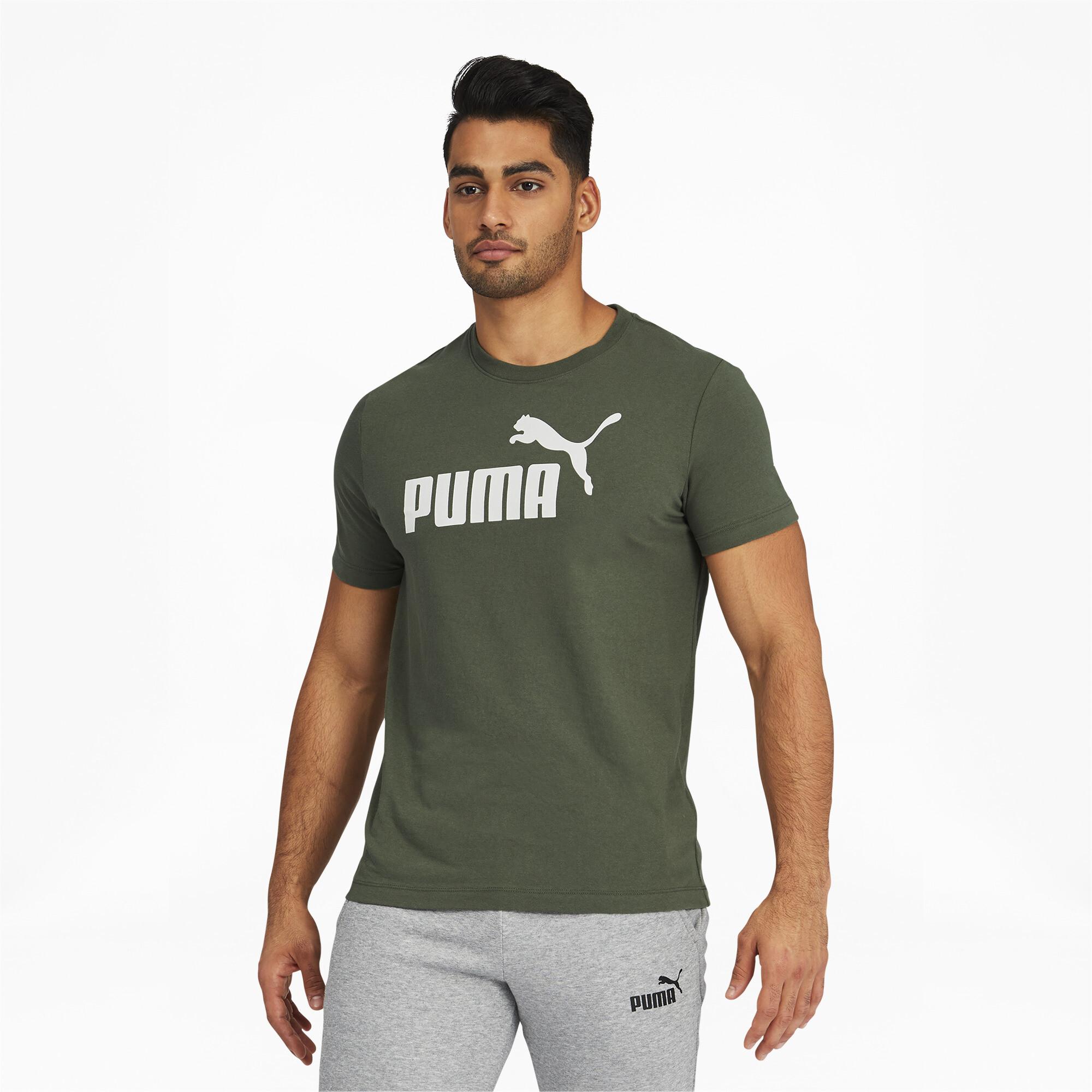 thumbnail 7 - PUMA Men's Essentials Logo Tee