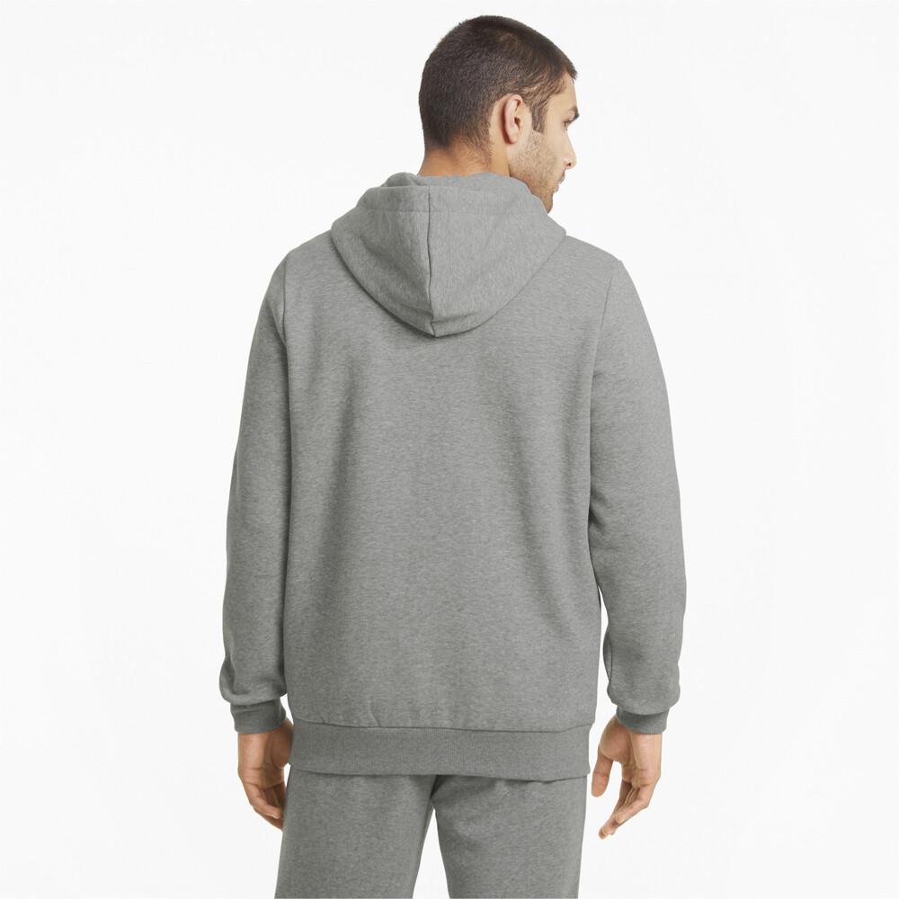 Image PUMA Essentials Full-Zip Logo Men's Hoodie #2