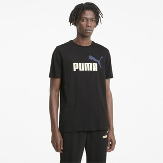 Image PUMA Essentials+ 2 Colour Logo Men's Tee