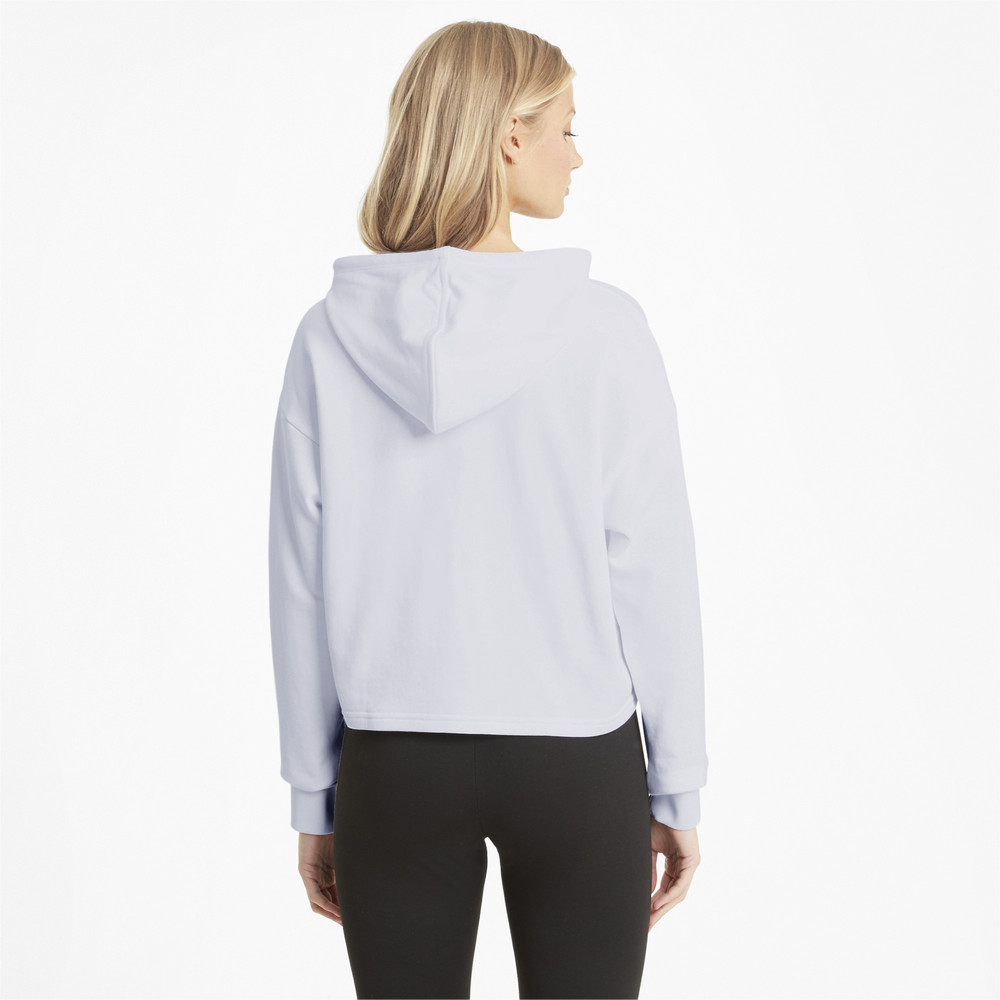 Image PUMA Essentials Logo Cropped Women's Hoodie #2