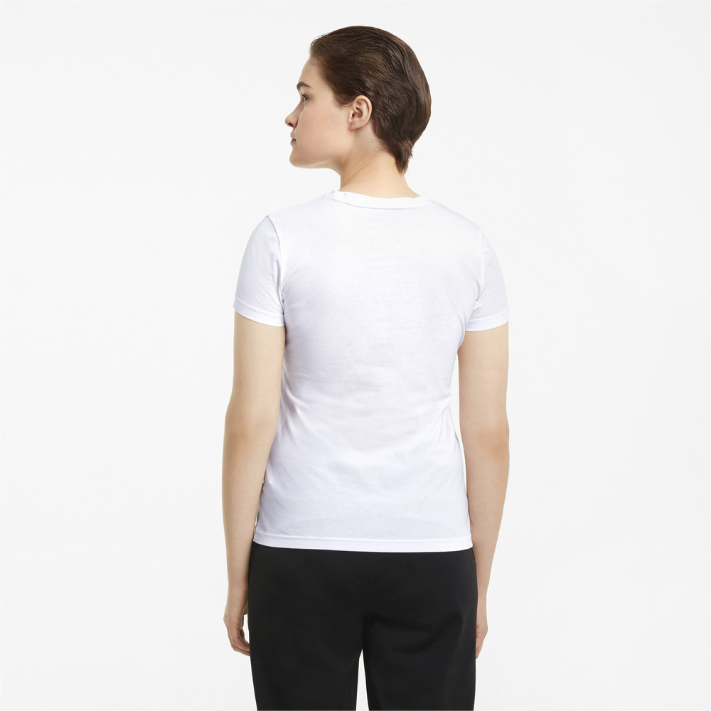 Image PUMA Essentials+ Metallic Logo Women's Tee #2