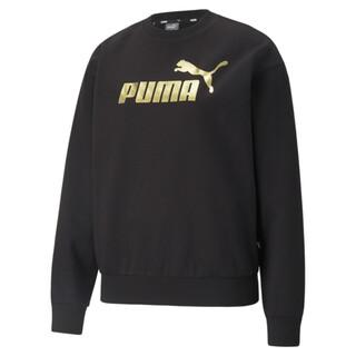Image PUMA Essentials+ Metallic Logo Crew Neck Women's Sweatshirt