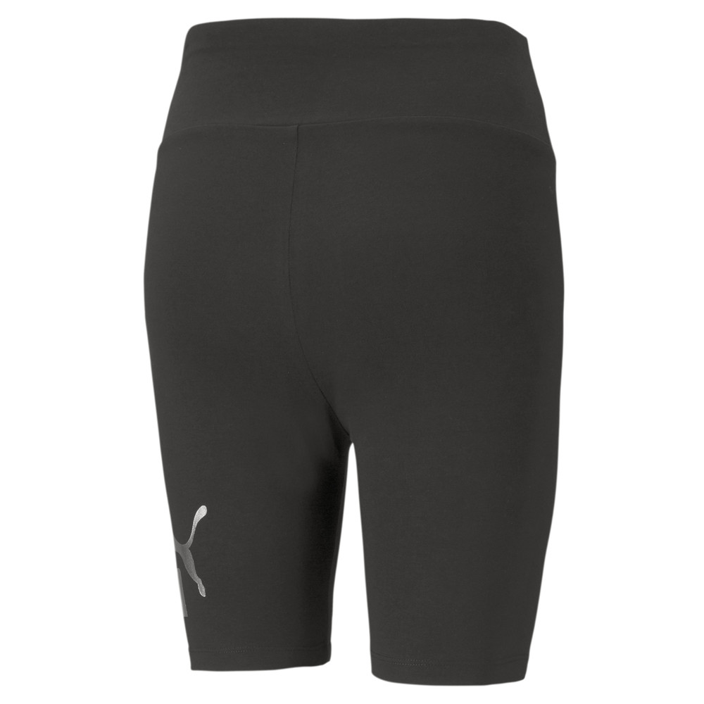 Image PUMA Essentials+ Metallic Women's Short Leggings #2