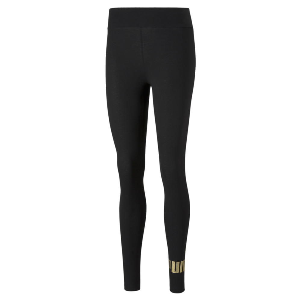 Image PUMA Essentials+ Metallic Women's Leggings #1