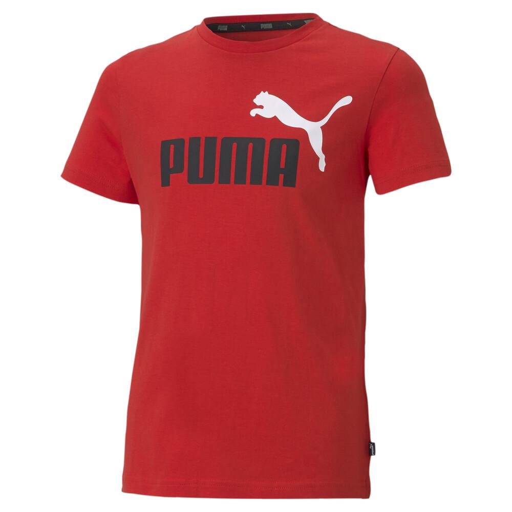 Image PUMA Essentials+ Two-Tone Logo Youth Tee #1