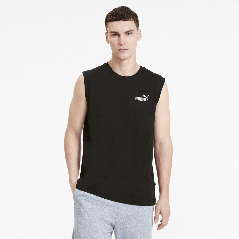 Image Puma Essentials+ Sleeveless Men's Tee #1
