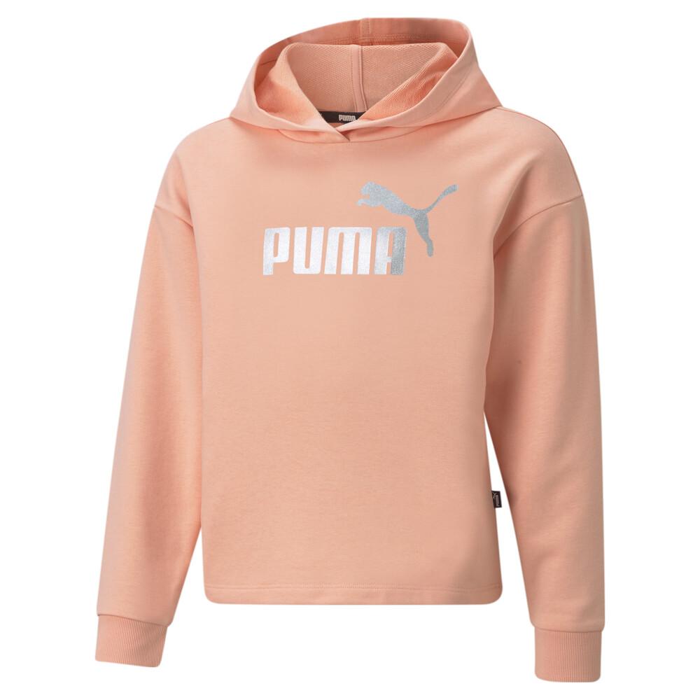 Image PUMA Essentials+ Logo Cropped Youth Hoodie #1