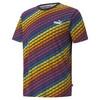 Görüntü Puma PRIDE Desenli Erkek T-Shirt #1