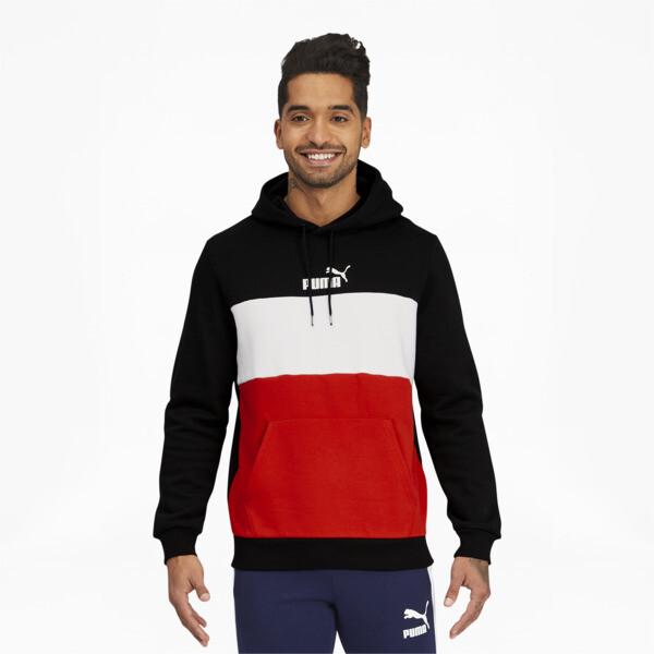 Puma Essentials+ Men's Hoodie In Black, Size S