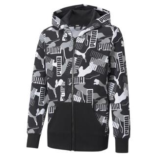 Image PUMA Alpha Printed Full-Zip Youth Jacket