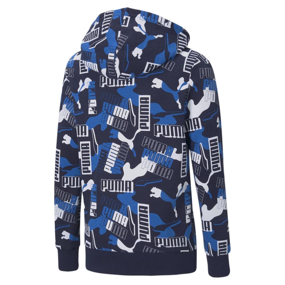 Image PUMA Alpha Printed Full-Zip Youth Jacket #2