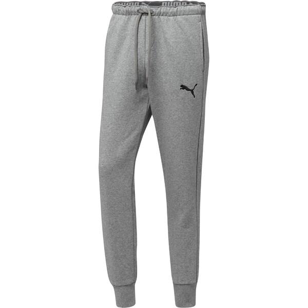 Core Cuffed Pants, Medium Gray Heather, large