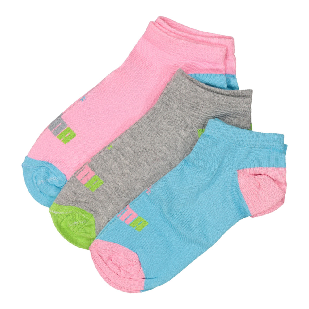Image Puma 3 Pack Multi colour secret sock #1