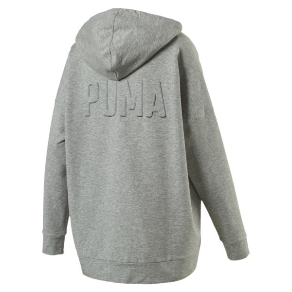 Fusion Hoodie, Light Gray Heather, large