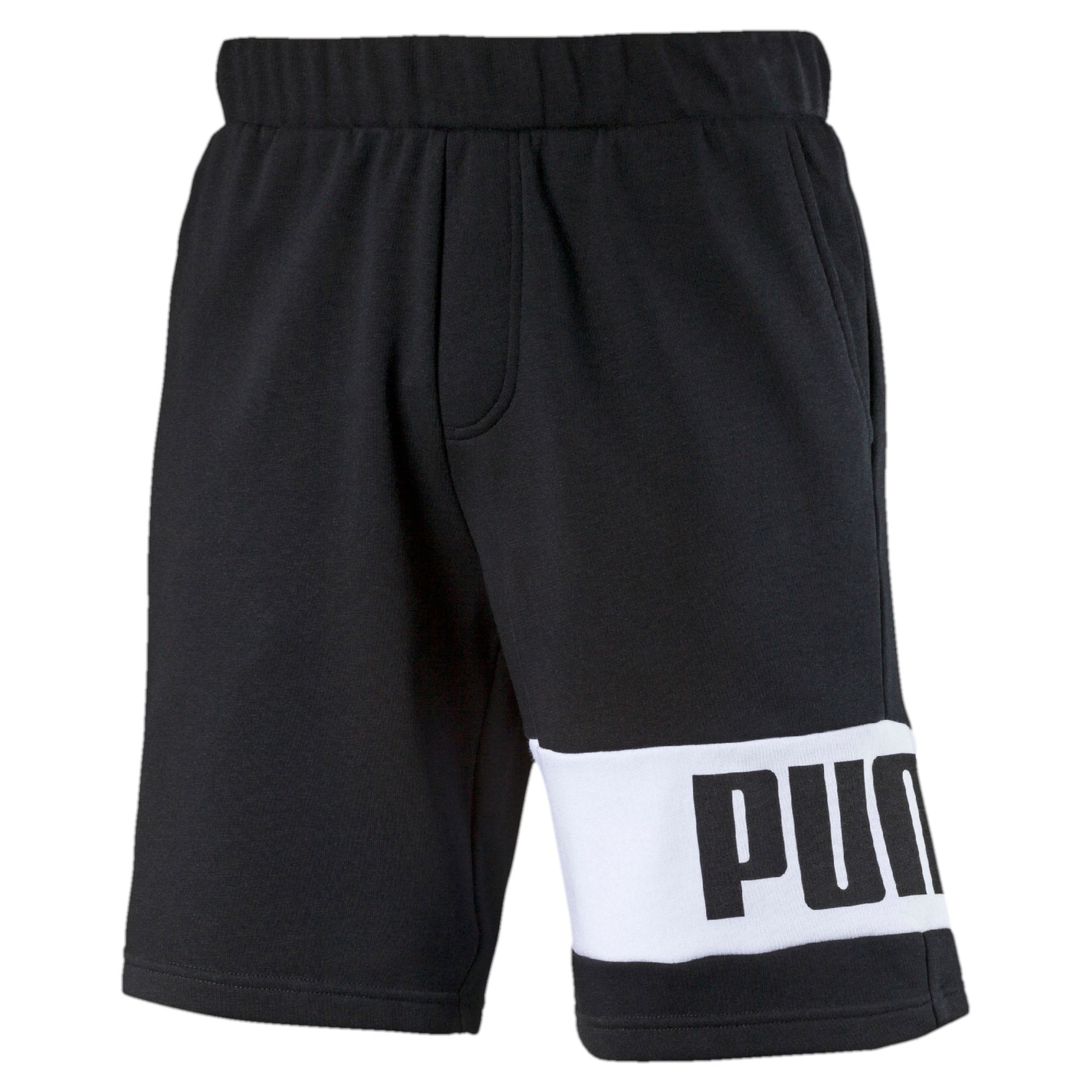 Image Puma Men's Rebel Sweat Shorts #1