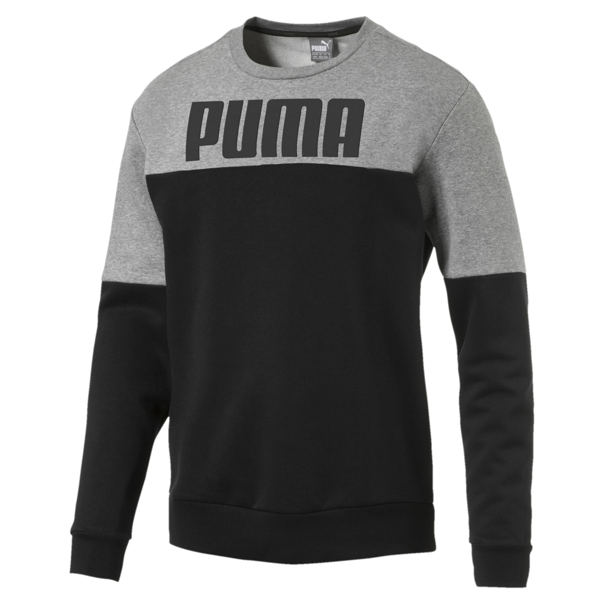 Image Puma Men's Rebel Block Fleece Sweater #1