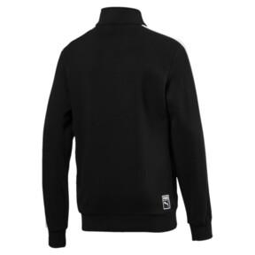 Thumbnail 2 of Boys' Classic T7 Track Jacket, Cotton Black, medium