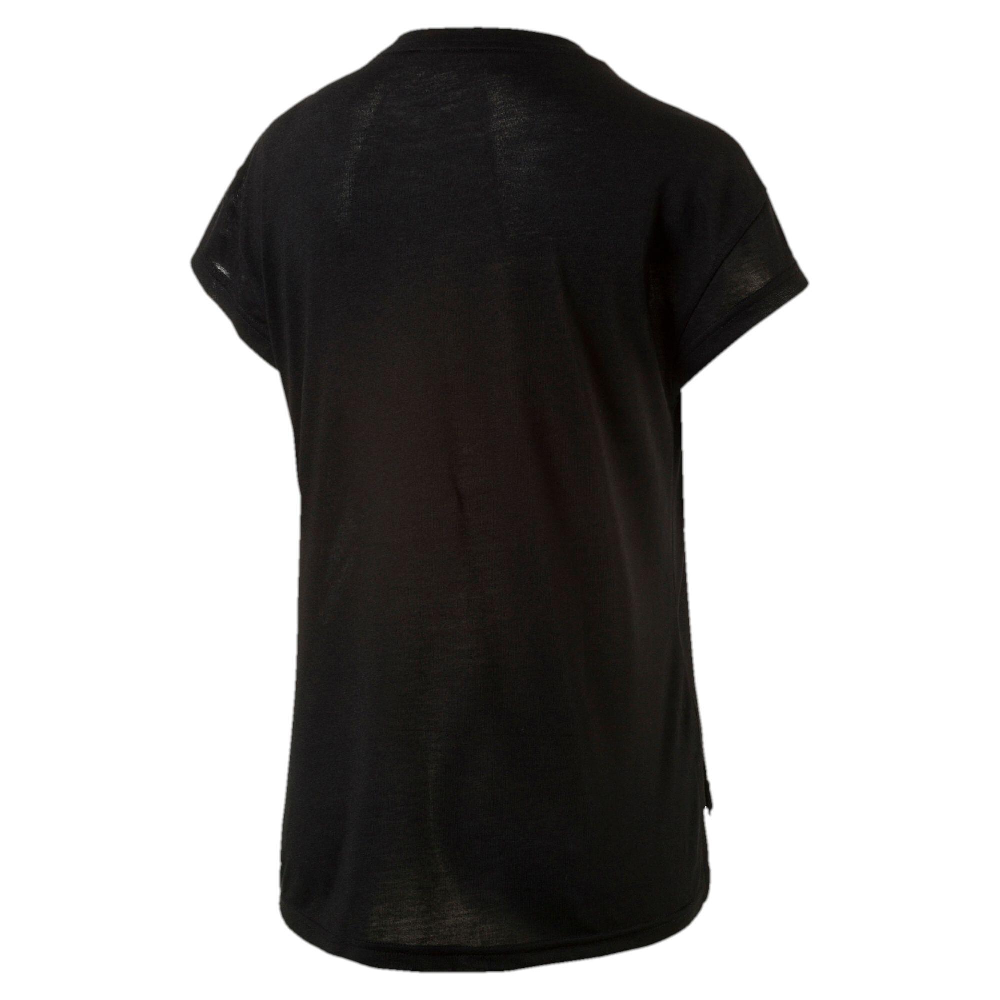 Image Puma Women's Active Urban Sports Trend T-Shirt #5