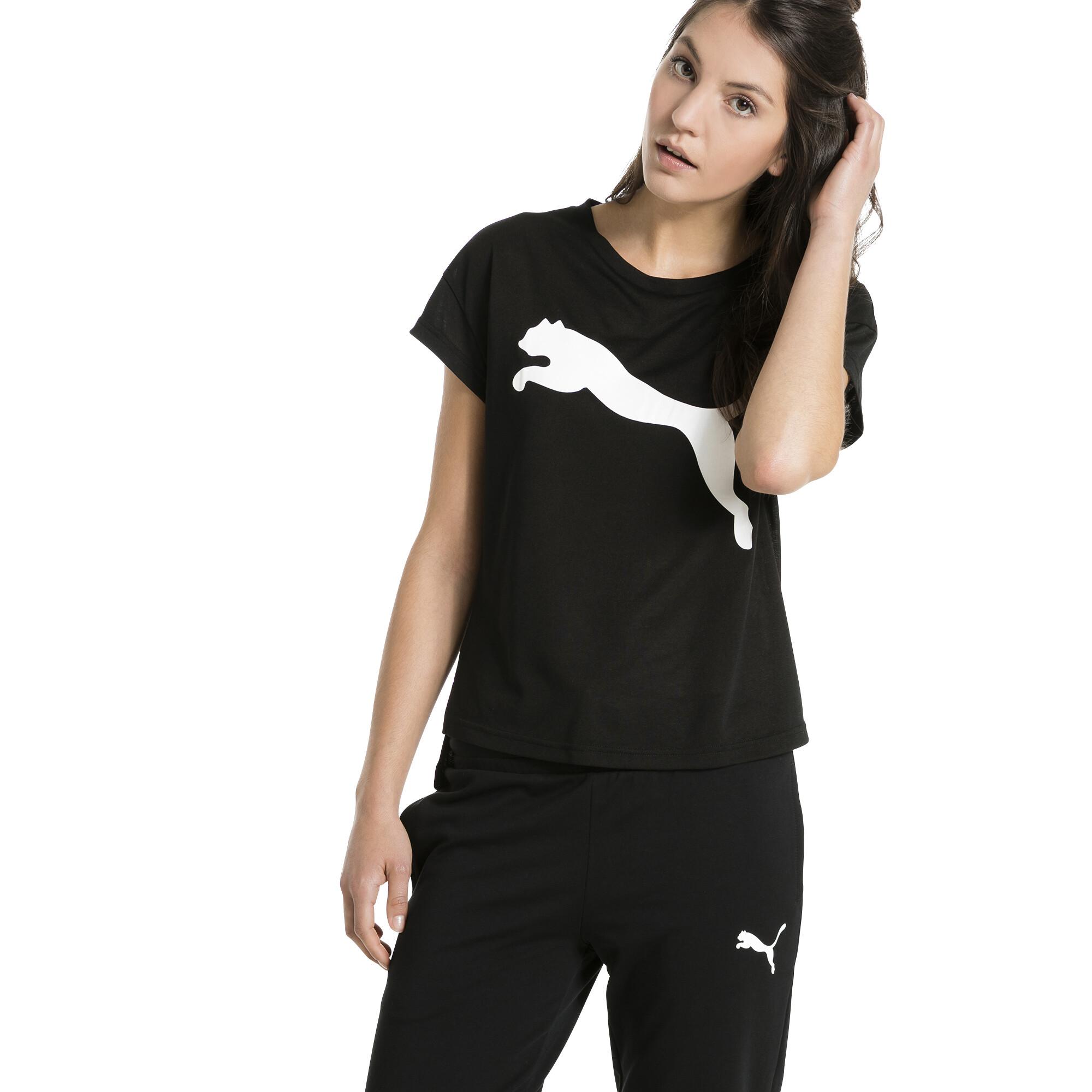 Image Puma Women's Active Urban Sports Trend T-Shirt #2