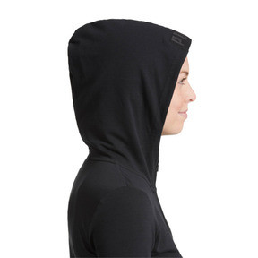 Thumbnail 6 of Active Urban Sports Full Zip Hoodie, Puma Black, medium