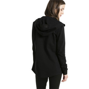 Thumbnail 3 of Active Urban Sports Full Zip Hoodie, Puma Black, medium