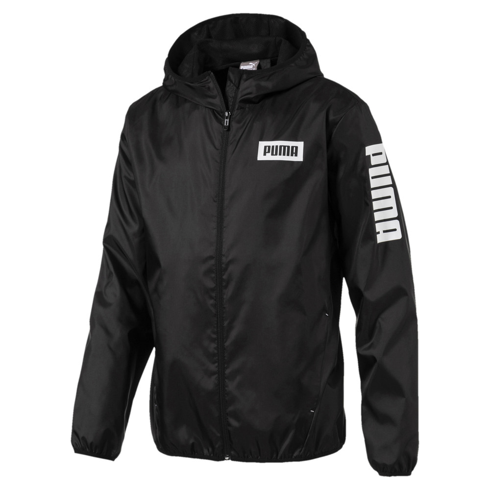 Image PUMA Men's Rebel Windbreaker #1