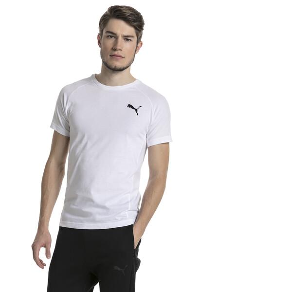 Evostripe Move Men's Tee, Puma White, large