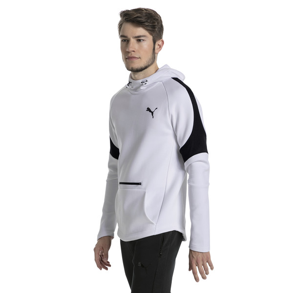 Evostripe Move Men's Hoodie, Puma White, large