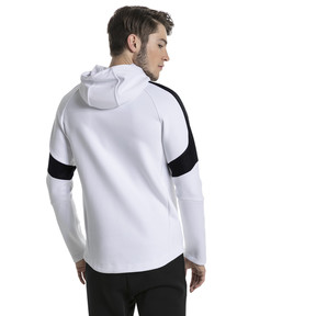 Thumbnail 3 of Evostripe Move Men's Hoodie, Puma White, medium