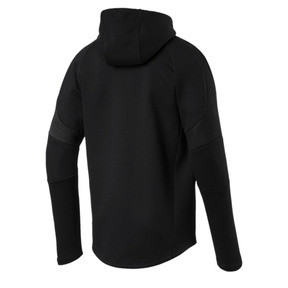 Thumbnail 4 of Evostripe Move Men's Full Zip Hoodie, Puma Black, medium