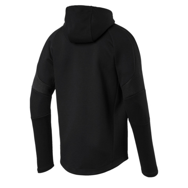 Evostripe Move Men's Full Zip Hoodie, Puma Black, large