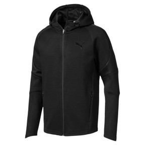 Thumbnail 1 of Evostripe Move Men's Full Zip Hoodie, Puma Black, medium