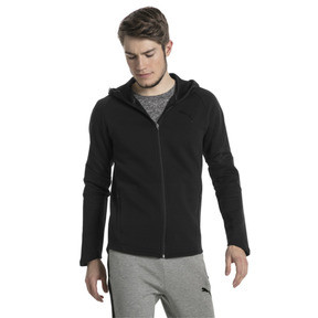 Thumbnail 2 of Evostripe Move Men's Full Zip Hoodie, Puma Black, medium