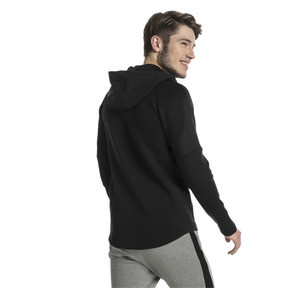 Thumbnail 3 of Evostripe Move Men's Full Zip Hoodie, Puma Black, medium