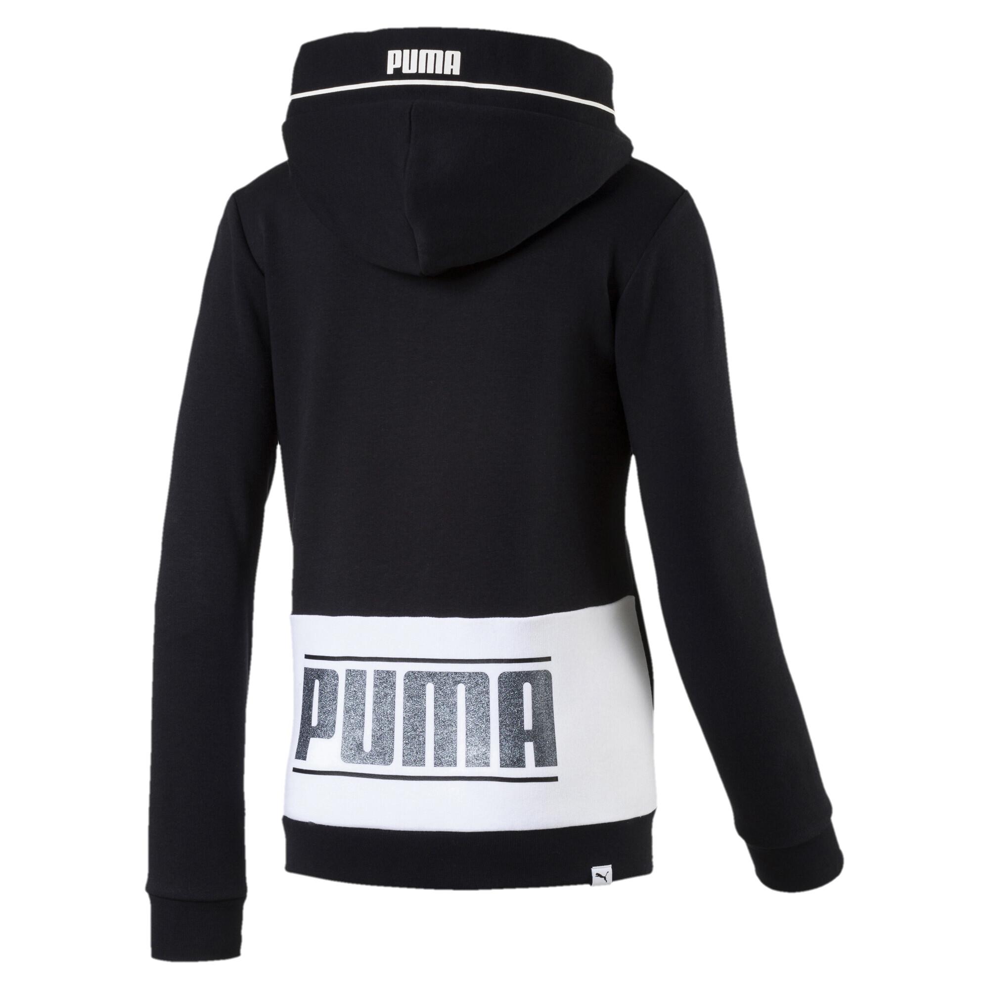 Image Puma Girls' Style Full Zip Hoodie #2
