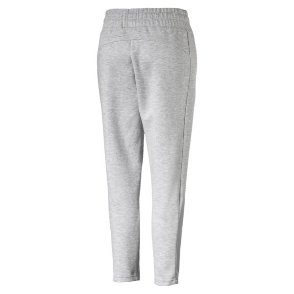 Evostripe Women's Pants, Light Gray Heather, large