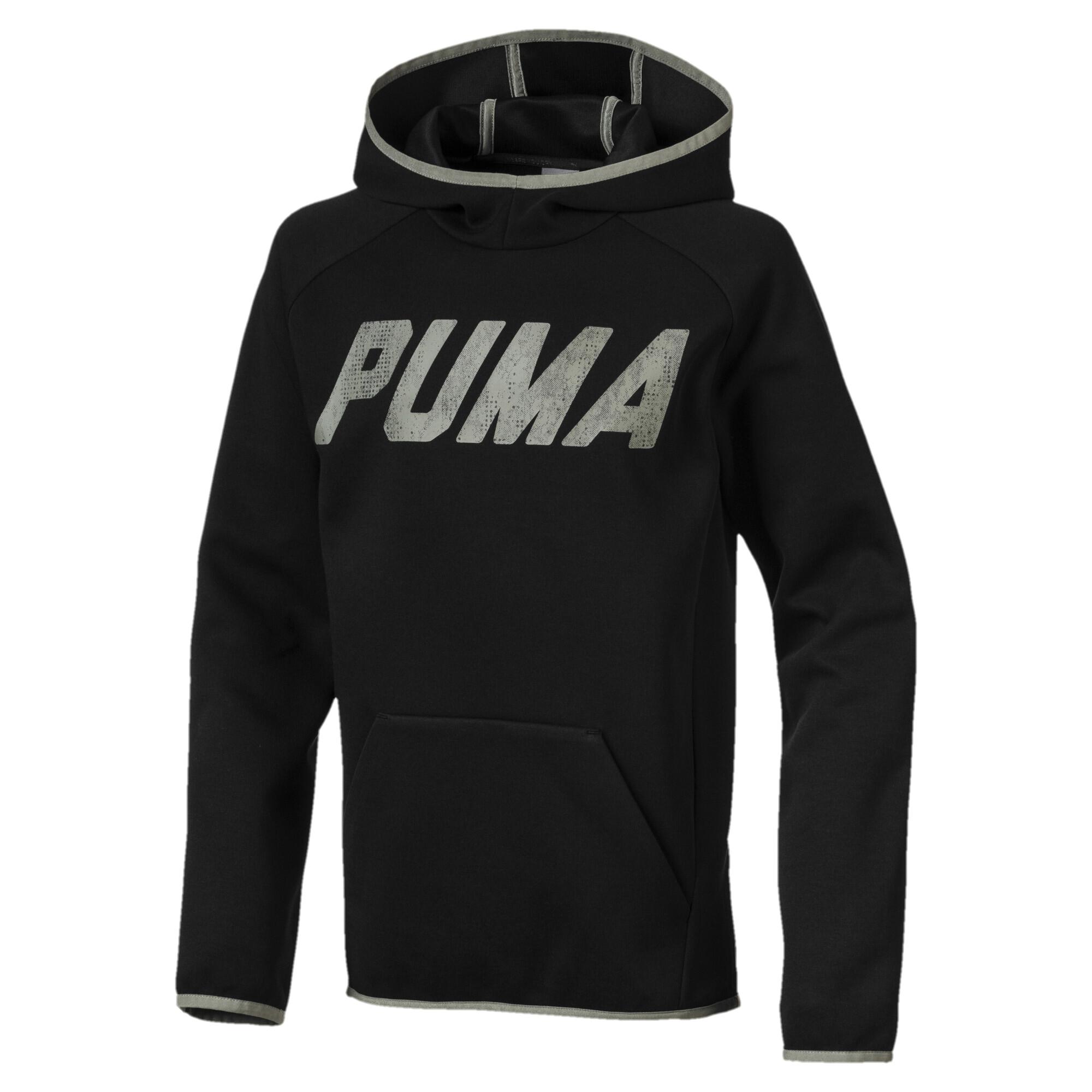 Image Puma Boys' Tech Hoodie #1