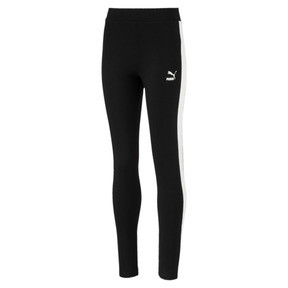 Thumbnail 1 of Classics T7 Girls' Leggings, Cotton Black, medium